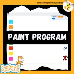 Create Paint Program on Scratch